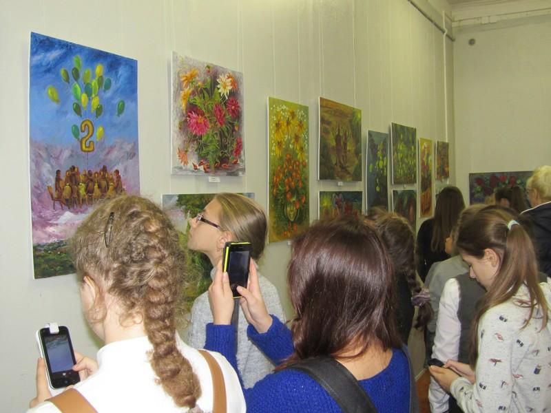 В  Узловском художественно-краеведческом музее работают выставки